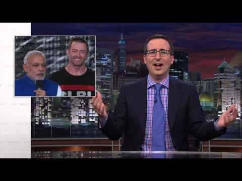 Narendra Modi In New York: Last Week Tonight with John Oliver (HBO)