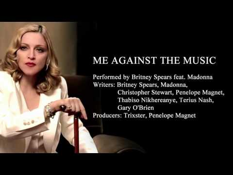 Me Against The Music - Instrumental