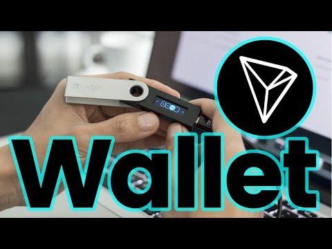 Ledger Nano S als Tron Wallet (TRX Wallet) verwenden