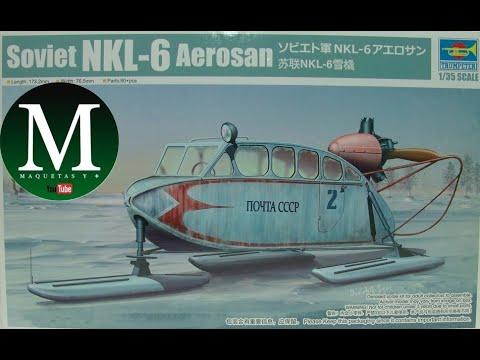 Download NKL-6 Aerosan (Trumpeter 1:35)