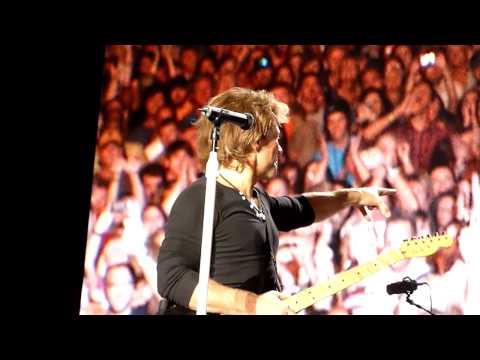 Bon Jovi - Runaway - Gulf Shores Alabama Beach Concert, Oct. 15, 2010