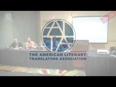 ALTA38: Panel: How Grants & Awards Contribute to U.S. Literary Culture
