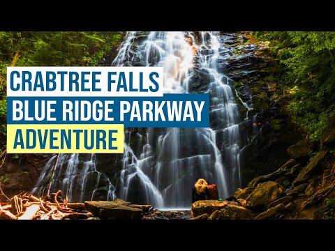 Crabtree Falls Blue Ridge Parkway Adventure