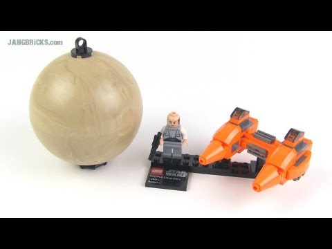 LEGO Star Wars Planet set 9678 - Bespin & Cloud Car