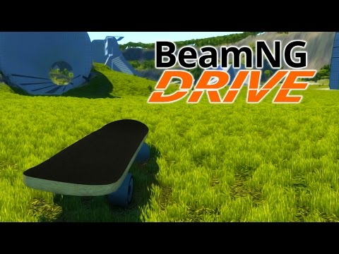 BeamNG.Drive #3 | GIANT SKATEBOARD
