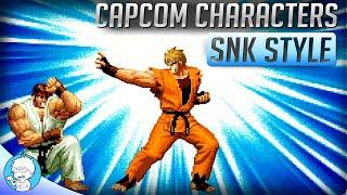 The GAME I thought got CANCELED SNK vs. Capcom【Brook PS2 Converter】
