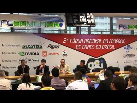 VgBR No 2º Fórum Nacional Do Comércio De Games No Brasil