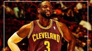 Dwyane Wade officially signs with the Cleveland Cavaliers
