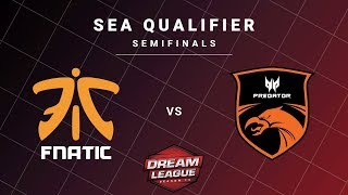 Fnatic vs TNC Predator Game 2 - DreamLeague S13 SEA Qualifiers: Semifinals