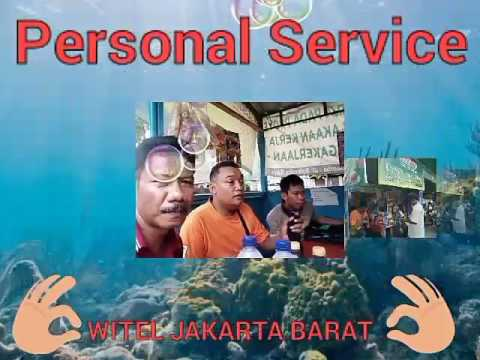 Personal Service Witel Jakarta Barat sosialisasi wifi id ke publik dan mengawal target