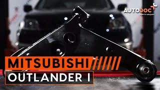 Changer triangle de suspension avant Mitsubishi Outlander 1 TUTORIEL | AUTODOC