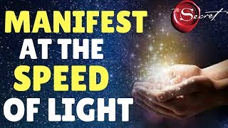3 Law of Attraction Techniques To Manifest ANYTHING You Want At The SPEED OF LIGHT WARNING