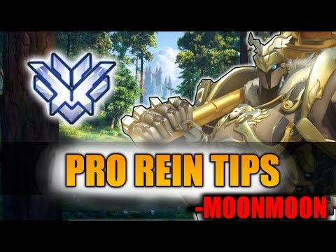How To DESTROY With REINHARDT In COMPETITIVE!! | MoonMoon - Overwatch Season 5 Top 500 Vod Gameplay