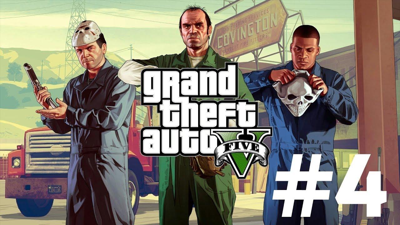 grand theft auto 5 ps4 part 4