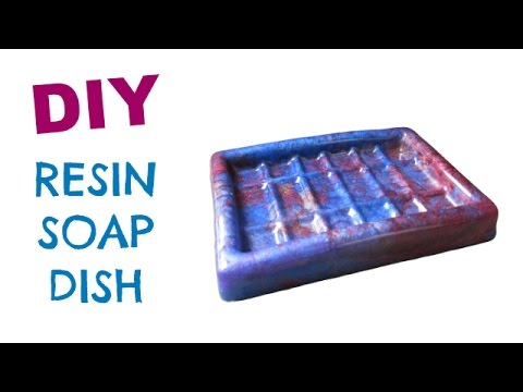 Resin Soap Dish Diy Craft Klatch Youtube