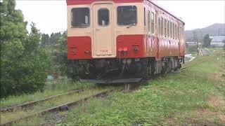 <国鉄一般色塗替後初の単行運転> キハ52 125 いすみ鉄道