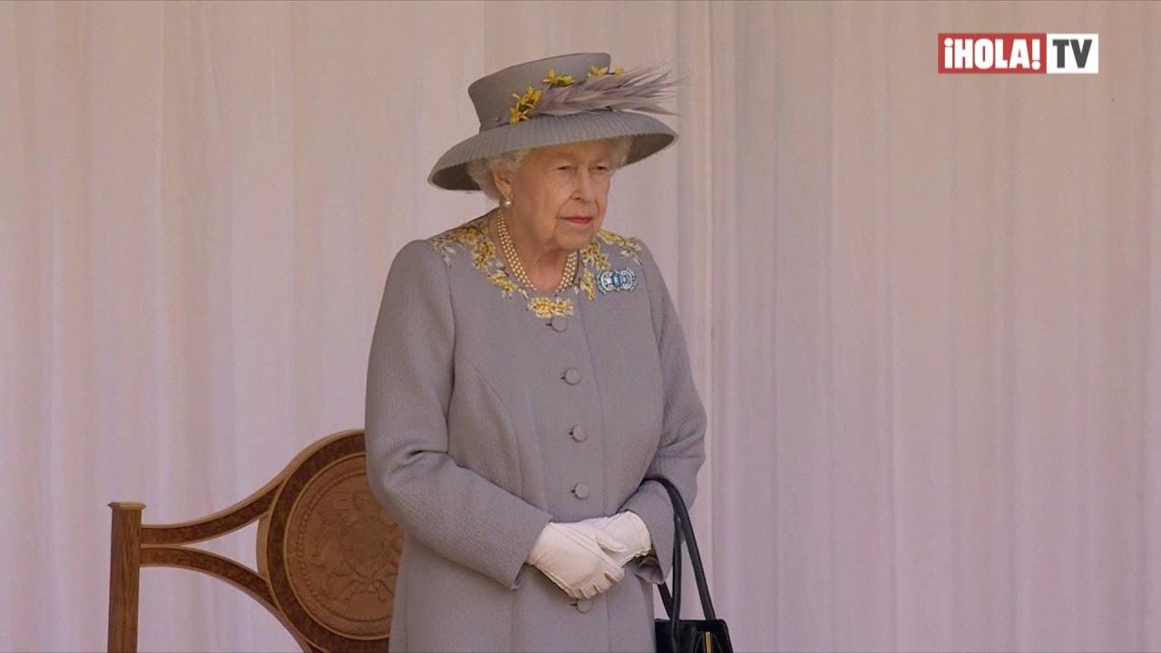 La reina Isabel II celebró un Trooping the Colour en solitario y sin familia real   ¡HOLA! TV