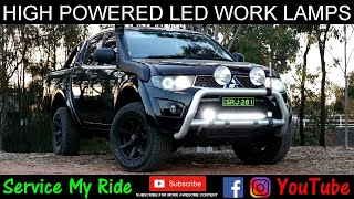How to Install the NARVA 4x4 High Powered LED Work Lamps