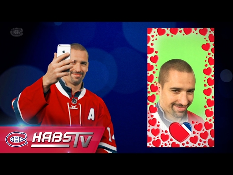 Montreal Canadiens take seductive selfies