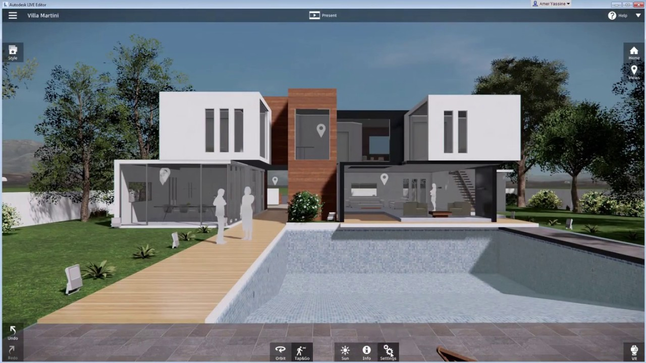 Revit live easy to use youtube for Home design 3d gratis italiano