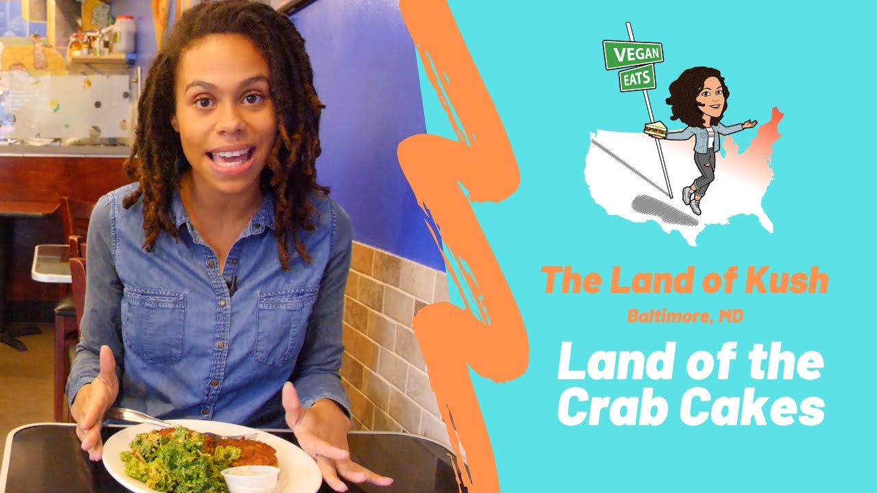 BEST Vegan Crab Cake in the City - The Land of Kush