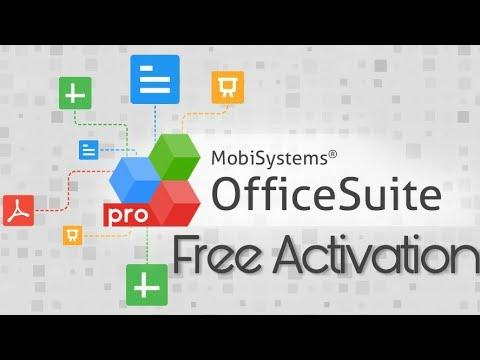 OfficeSuite Pro 16.44 B20121301 Crack Full Keygen 2021 Activation Key