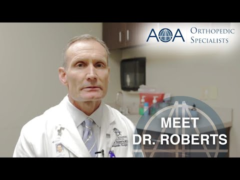 Arlington Orthopedic Associates  Meet Dr Mills Roberts Irving, TX