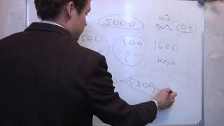 ЕГЭ математика В4.Видео урок. Репетитор