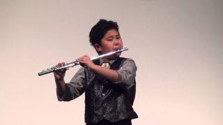 Download 10yo Elijah Abraham, Flute Time Piece by Negerevich MP3 song and Music Video