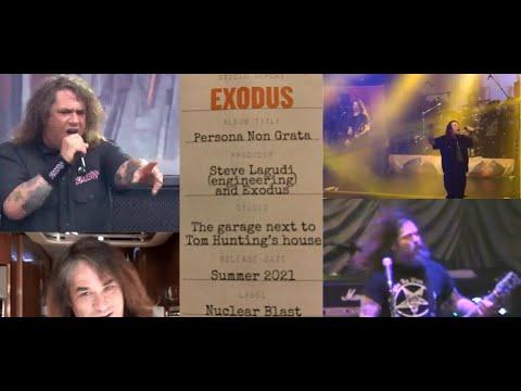 "EXODUS post update on new album, reveal title  ""Persona Non Grata"" and more..!"