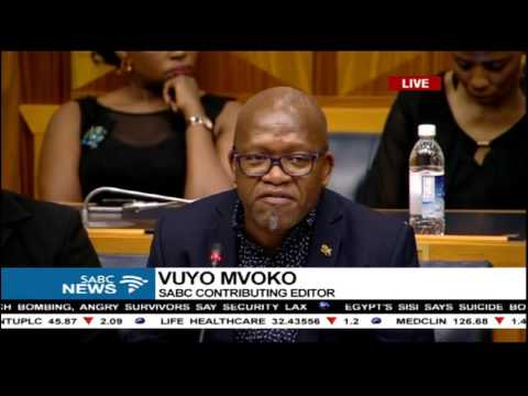 Parliament SABC Board Inquiry: Vuyo Mvoko