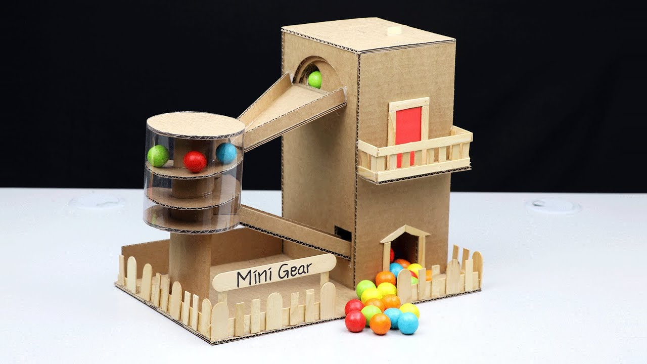 How To Make Gumball House Vending Machine Without Dc Motor