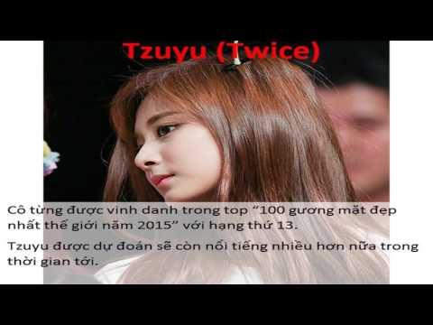 Top 10 gương mặt visual của các nhóm nhạc nữ Hàn Quốc - part 1 (Tzuyu - Hani - Yerin - Naeun)