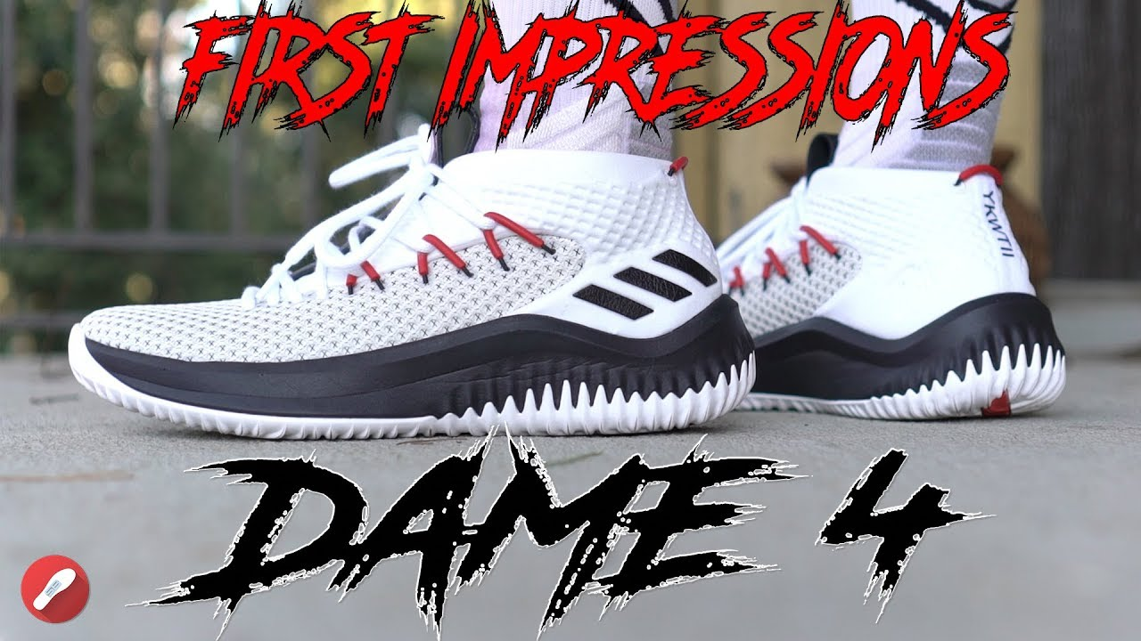 Adidas Dame 4 First Impressions! - YouTube d9a969e4b