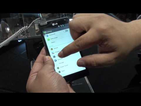 LG Optimus UI Hands-on Demo