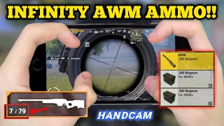 INFINITY AWM AMMO!! 4 Finger Claw Gyroscope | IPhone 8 | PUBG MOBILE