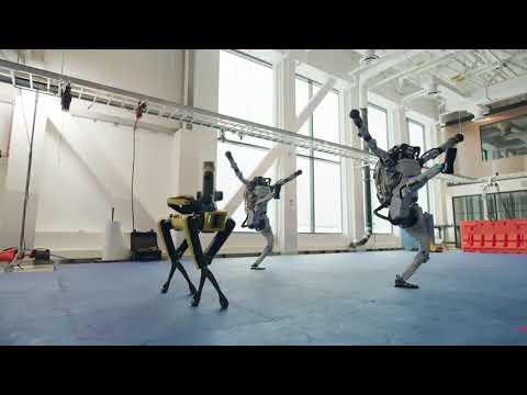 Robots causan sensación bailando