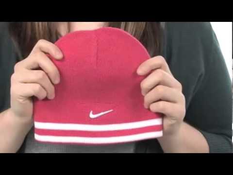 Nike Kids Reversible Stripe Knit Beanie (Little Kids/Big Kids) SKU:#8026405