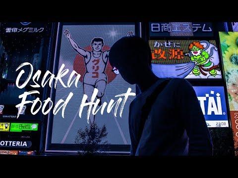 Japan Solo Trip VII - Osaka Food Hunt