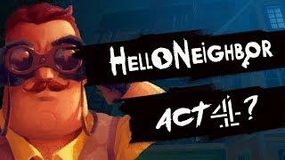 HELLO NEIGHBOR ACT 4 ( MAPA SECRETO QUE ME HAN ENVIADO )