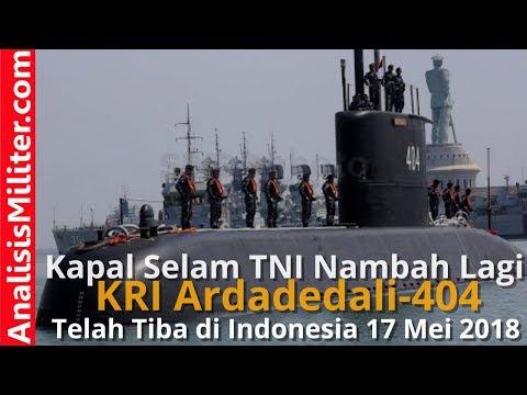 Akhirnya! Kapal Selam TNI Nambah Lagi, KRI Ardadedali-404 Telah Tiba di Indonesia