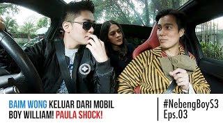 Download lagu Baim Wong keluar dari mobil Boy William! Paula Shock! - #NebengBoy S3 Eps. 03