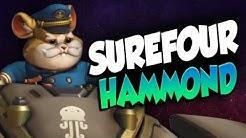 SUREFOUR TOP 500 HAMMOND GAMEPLAY! [ OVERWATCH SEASON 22 ]