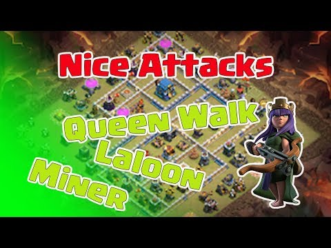Queen Walk Miners, Laloon | 3 Stars War TH12 | ClanVNN #HNR