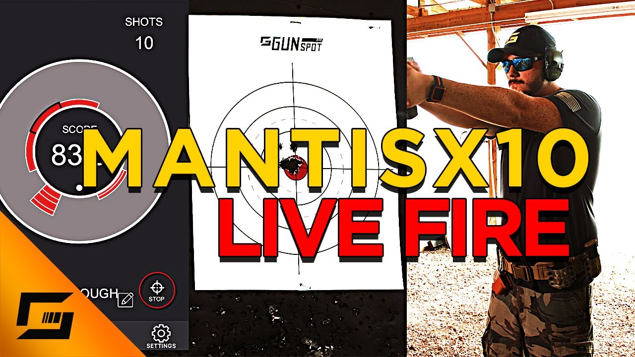 The Cure To Bad Range Practice - Mantis X10 Review Part 2 Live Fire