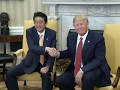 Japan's Abe Meets with Trump in White House
