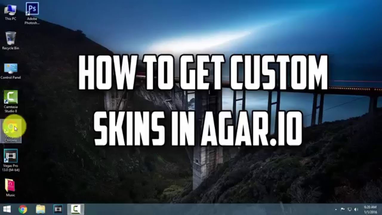 how to make your own skin on agar.io on ipad