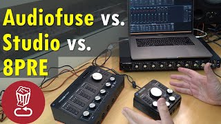Buyer's guide: Arturia Audiofuse Studio vs. 8PRE vs. Audiofuse // Audio interface checklist