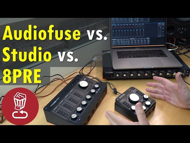 Buyer's guide: Arturia Audiofuse Studio vs. 8PRE vs. Audiofuse // Audio interface checklist