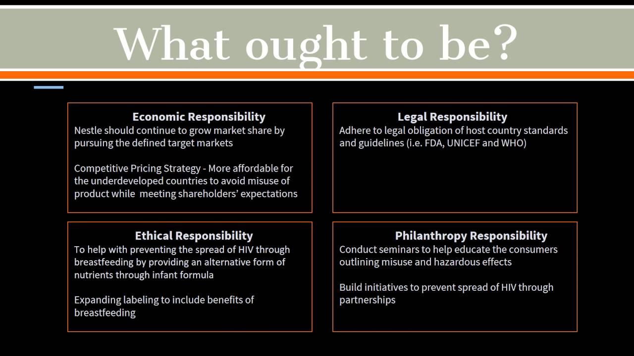 nestle ethics case study